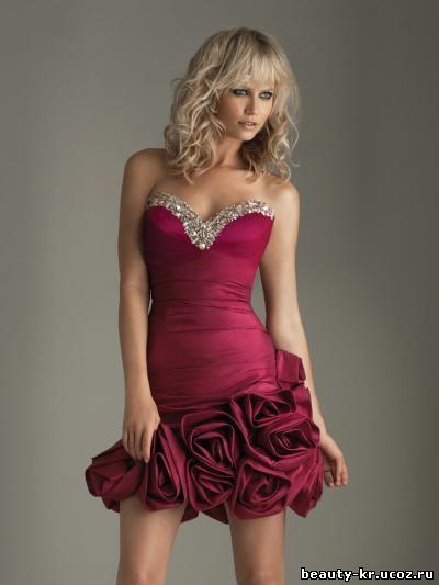 Брендовые коктейльные платья 2012 фото
